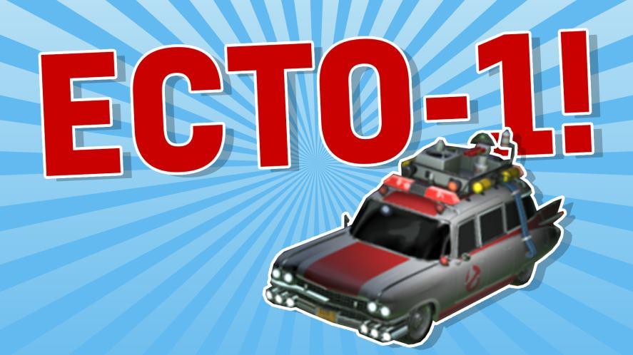 ECTO-1 ROCKET LEAGUE CAR