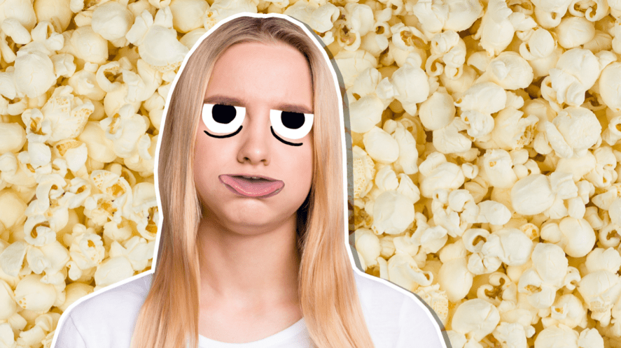 Sad about buying the wrong popcorn
