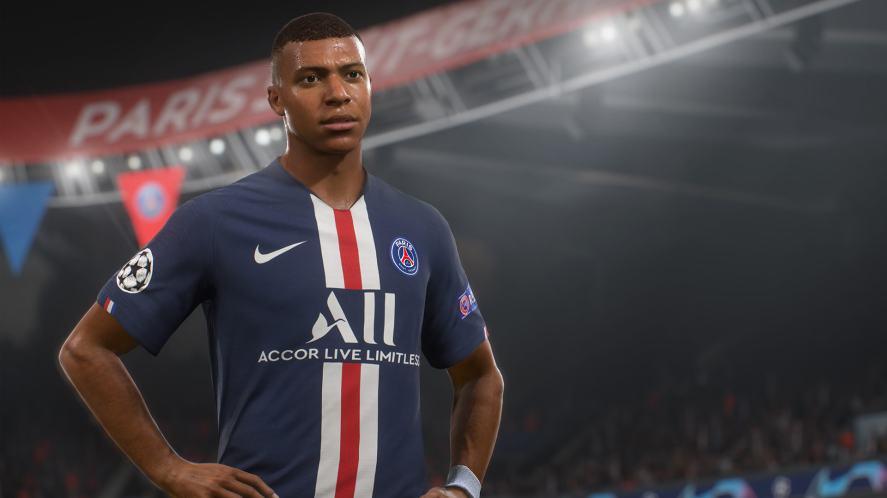 Paris Saint Germain player Kylian Mbappé