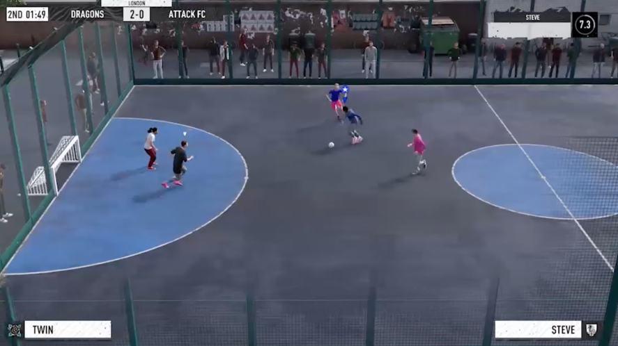FIFA 21 Volta mode
