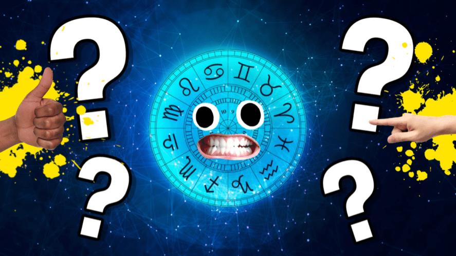 A zodiac chart