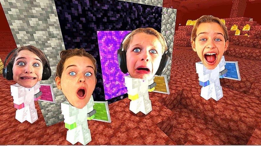 Norris Nuts Gaming play Minecraft