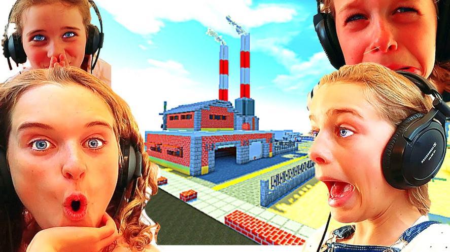 Minecraft factory build challenge