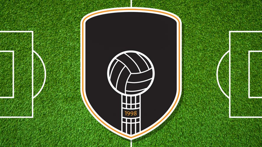 A football badge