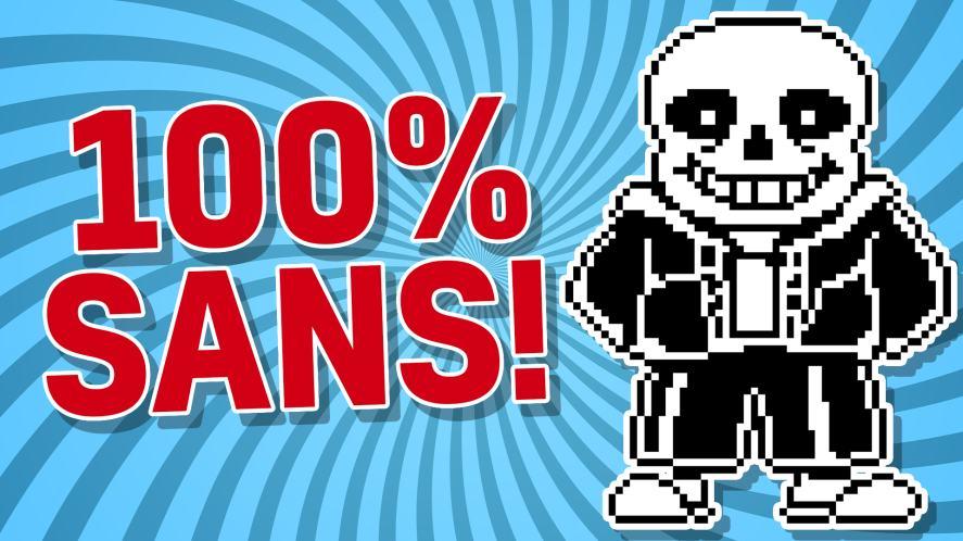 100% SANS