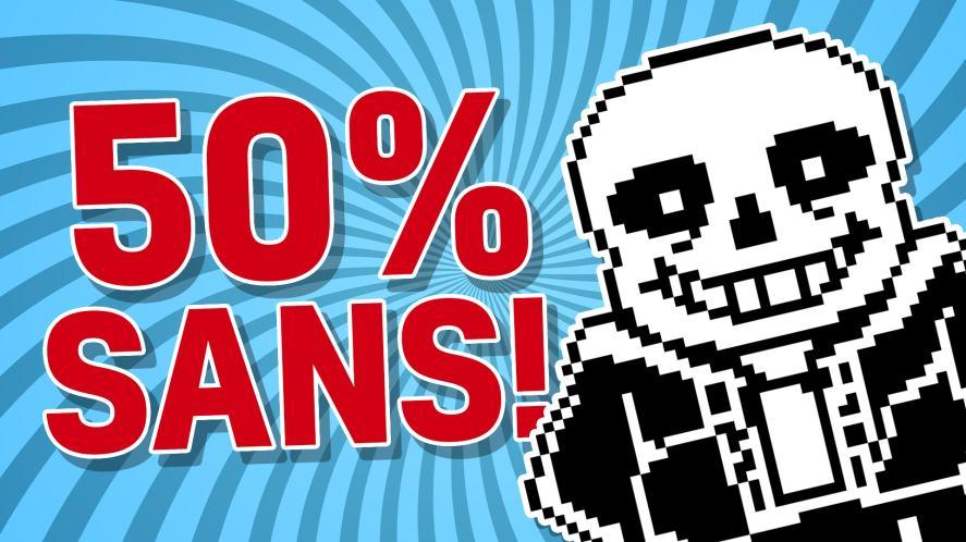 50% SANS