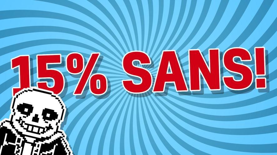 15% SANS