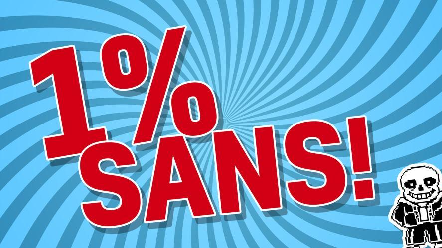 1% SANS