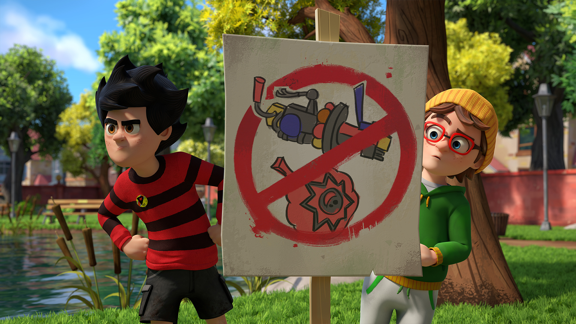 Dennis & Gnasher Unleashed! Series 2 - Episode 21: Too Cool For Rules