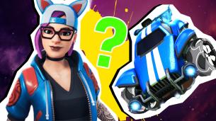 Fortnite vs Rocket League Quiz Thumbnail