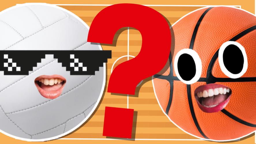 Netball and basketball