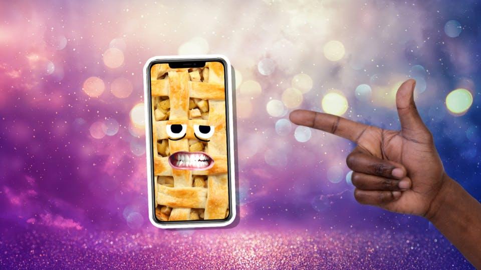 Apple pie phone