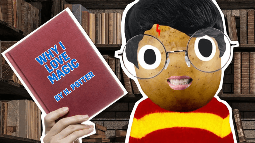 Harry Potter and book