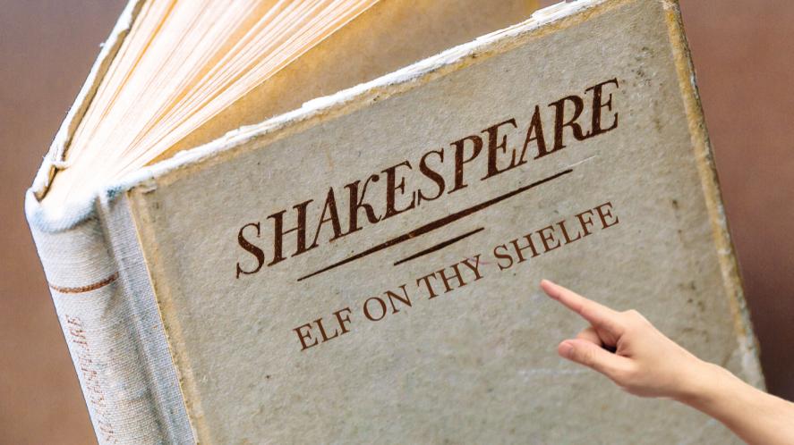 A Shakespeare book