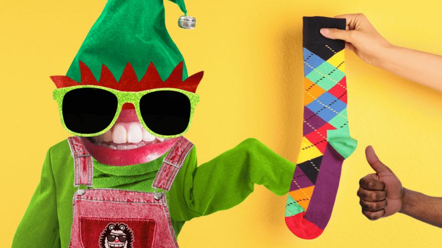 An elf accepts an odd sock