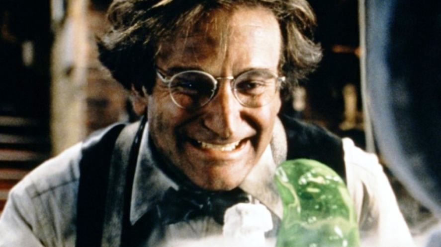 A scene from Flubber