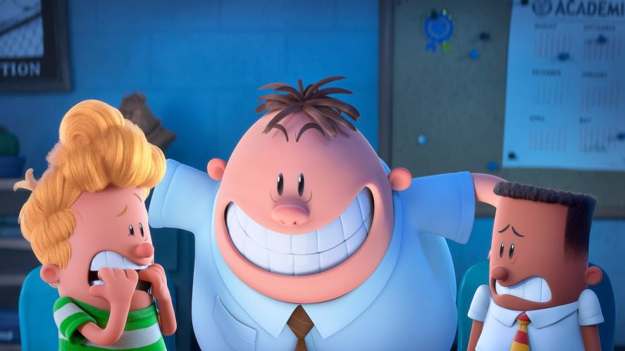 A scene from Captain Underpants: The First Epic Movie