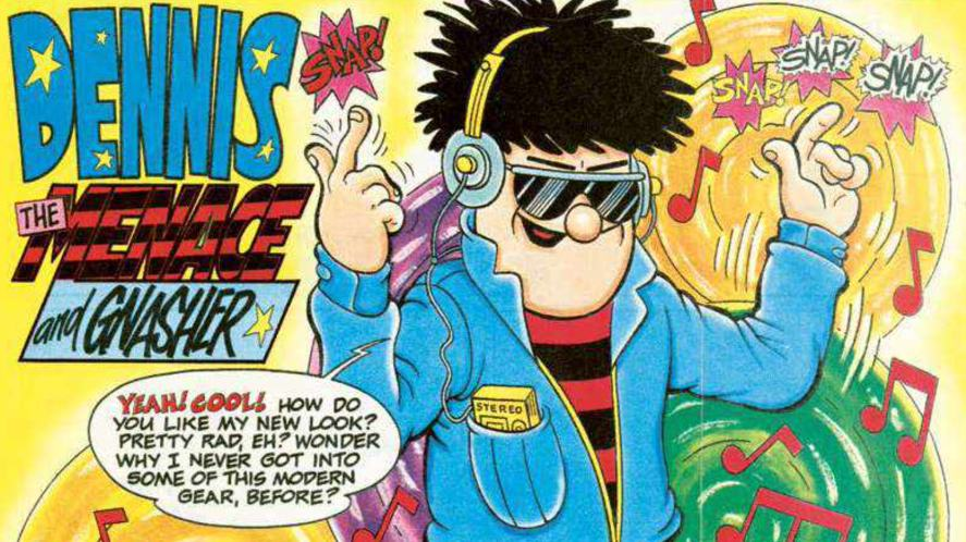 A Beano cover from 1991