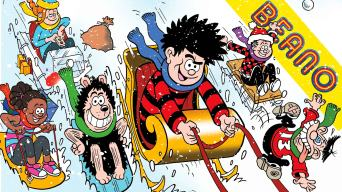 Inside Beano no. 4065 - The Snowball Fight Before Christmas!