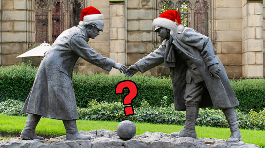 Christmas Truce Statue