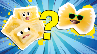 Can You Guess the Type of Pasta from the Shape?