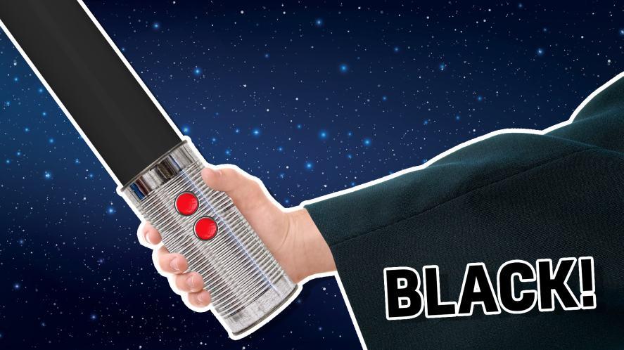 Black lightsaber