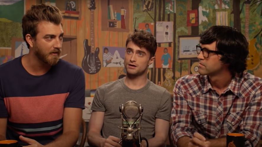 Daniel Radcliffe appears as a guest on Good Mythical Morning