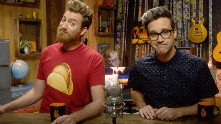 Good Mythical Morning has just one rule!