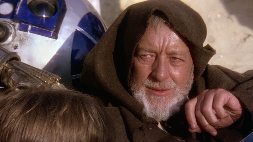 Obi Wan Kenobi in Star Wars: A New Hope
