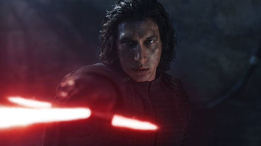 Kylo Ren in a scene from The Rise of Skywalker