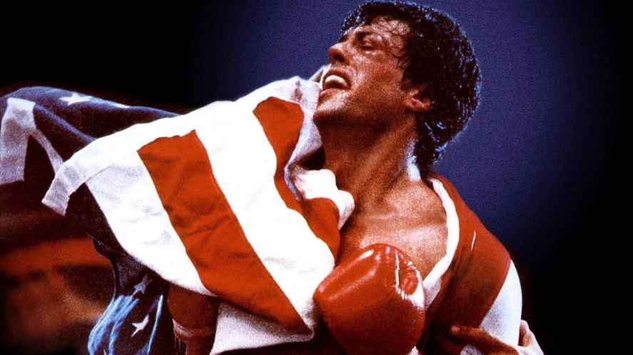 A scene from Rocky IV