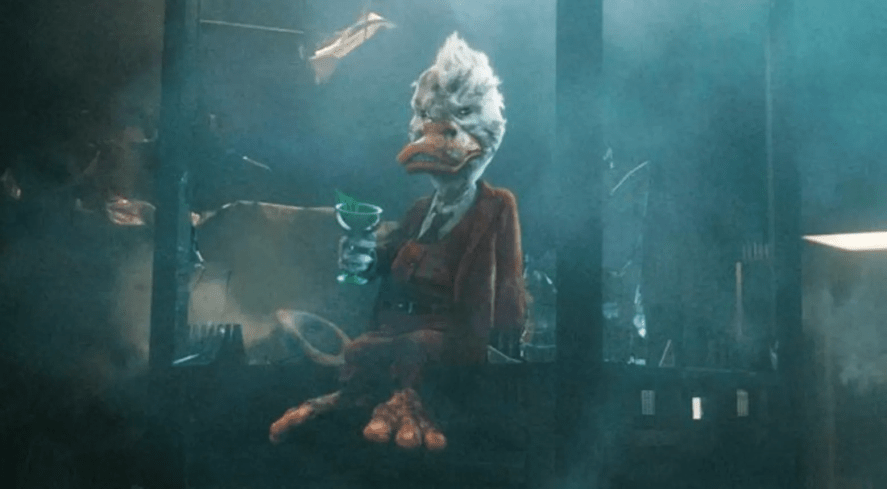 A duck in Guardians of the Galaxy