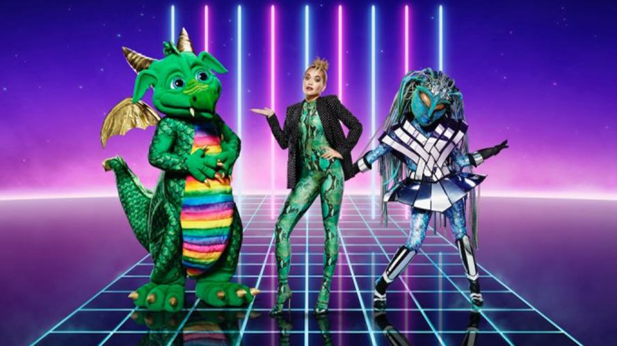 The Masked Singer contestants and Rita Ora