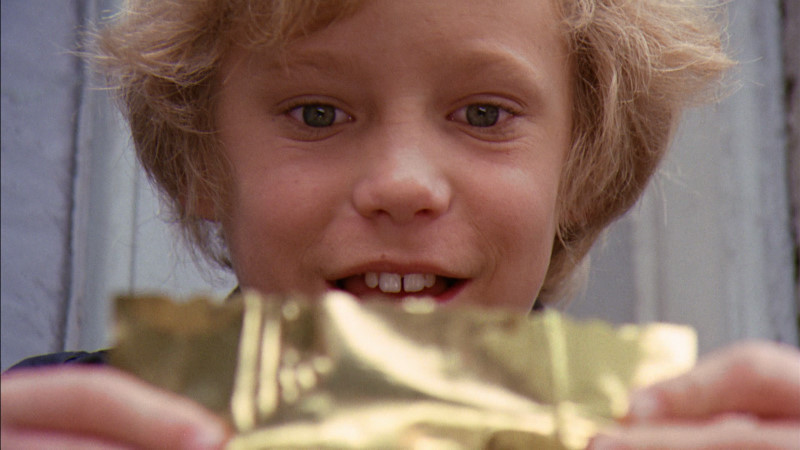 Charlie and a golden ticker