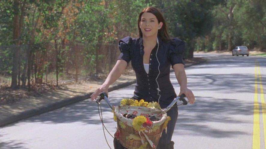 A scene from the Gilmore Girls