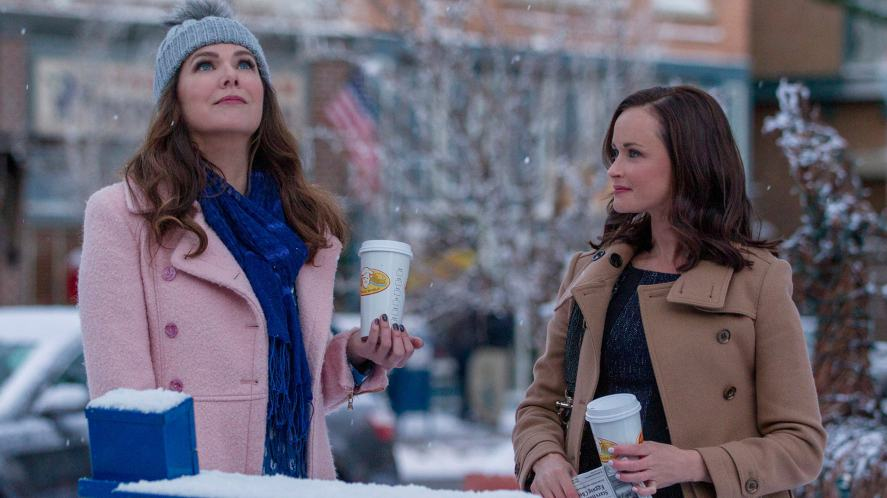 A scene from Gilmore Girls: A Year in the Life