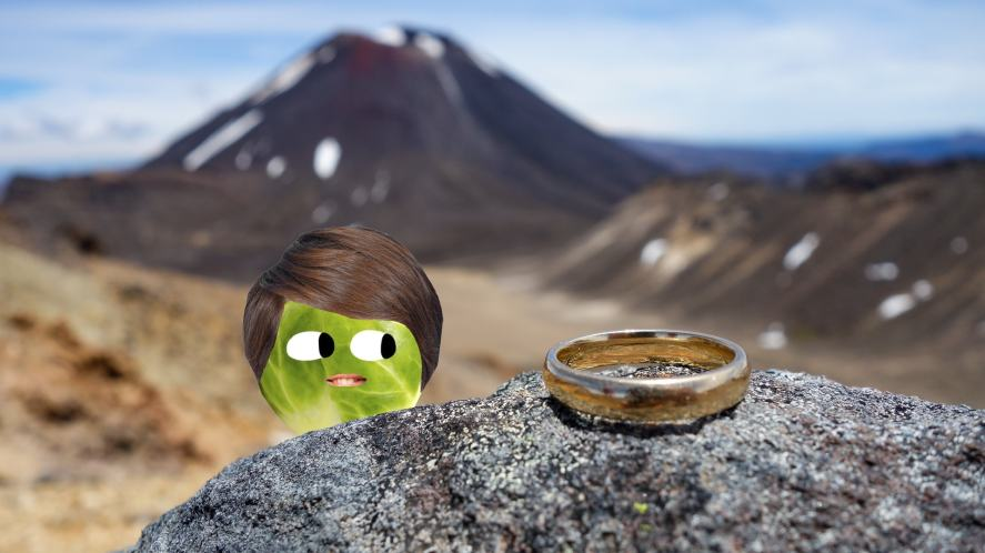 A ring on a rock