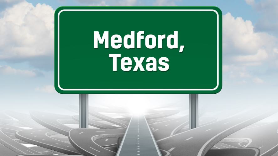 Medford, Texas