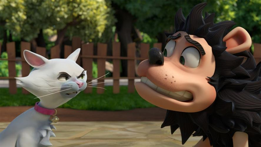 A scene from Dennis and Gnasher Unleashed