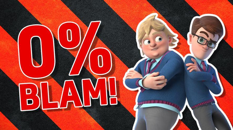 Zero per cent blam