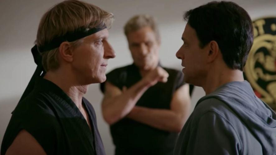 A scene from Cobra Kai