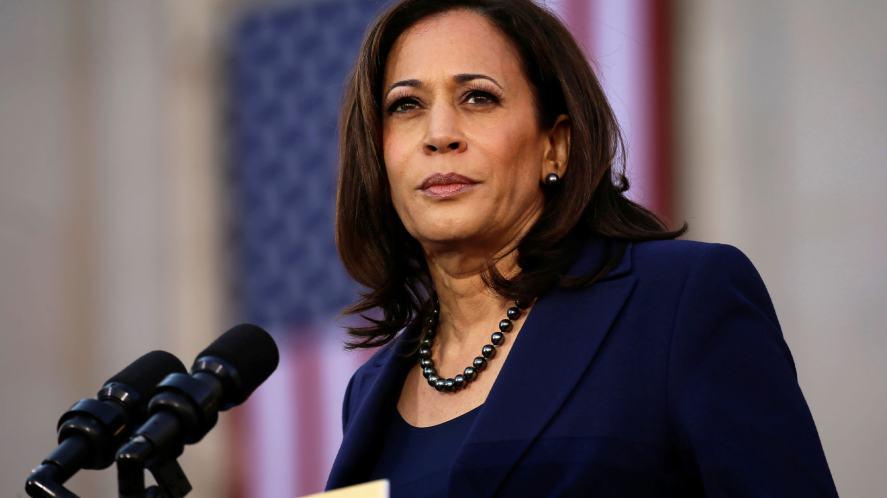 The new Vice-President of the USA, Kamala Harris