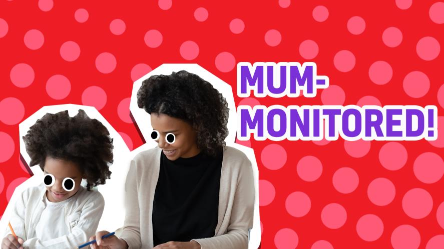 mum monitered result