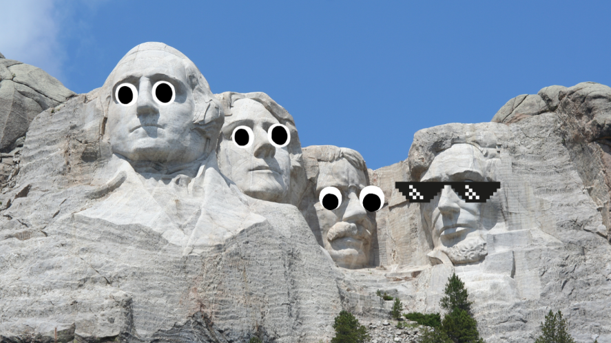 The Presidents monument