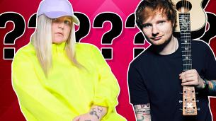 Pop music lyric quiz