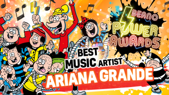 Best Artist: Beano Power Awards
