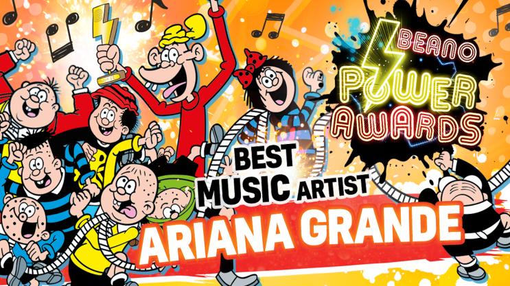 Best Artist: Beano Power Awards