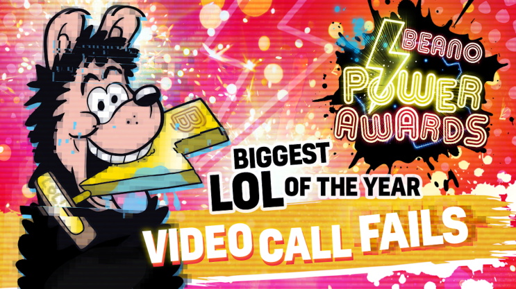 Biggest LOL of the Year: Beano Power Awards
