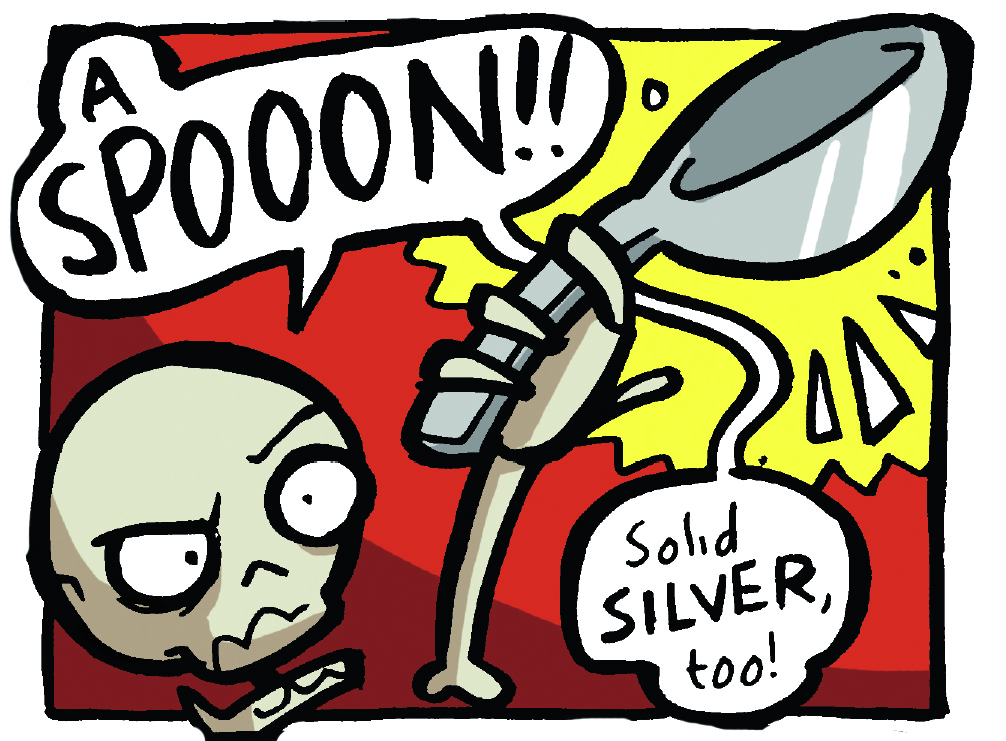 Arena of Awesome - Wolfboy vs. Skeleton, Beano, Jamie Smart